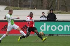 SC Feyenoord - Spijkenisse (15-02-2020)