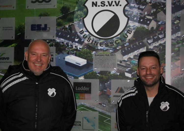 Peter Broekman (links) en Michael Nijssen. Foto: Jan Schoonen