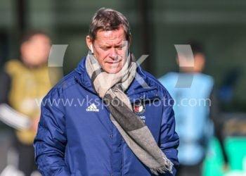 ROTTERDAM, 28-10-2020, Training ground 1908, europaleugue Season 2020 / 2021, Training Feyenoord Rotterdam before Feyenoord - CSKA Moskou,  technisch directeur Feyenoord Frank Arnesen