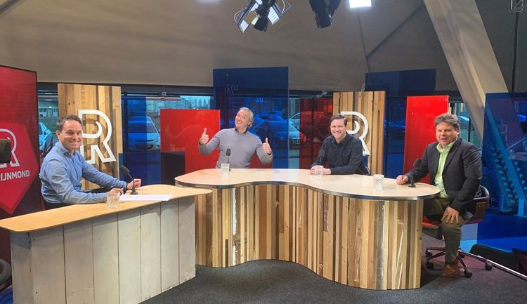 FC Rijnmond met Robert Maaskant en Harry van der Laan