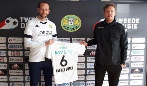 Jesper van den Bosch (L) en trainer Rogier Veenstra (Foto: PR ASWH)