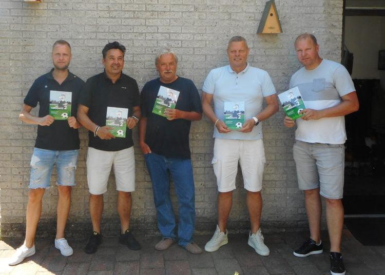 Foto (vlnr): Michel Feenstra, Winni Kiksen, Jan Schoonen, Peter Hoek, Richard Feenstra