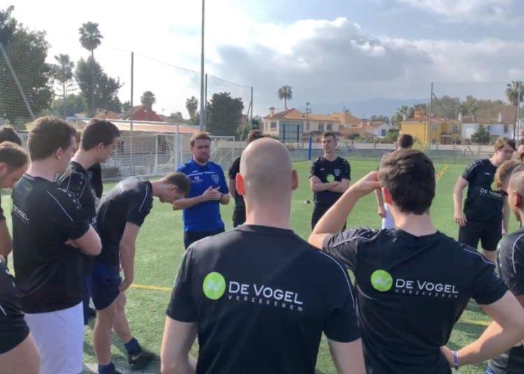 DJS trainingskamp in Spanje